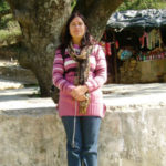 dr usha vaishnava ji at narayan yoga school rishikesh india