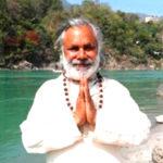 guru yogendra mishra ji at narayan yoga school rishikesh india