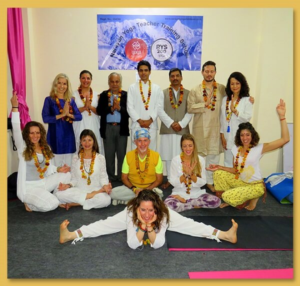 yoga teacher training certificate ceremony