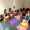 music class at narayan yoga school